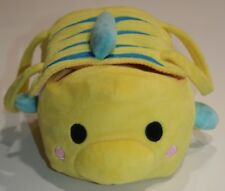 Tsum Tsum Little Mermaid Flounder Fish Purse Bag USA Disney Parks Plush Toy 9""