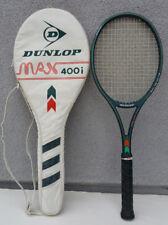"Dunlop Max 400i GRAFIL XAS INJECTION Tennis Racquet Racket 4 1/2"" + Case England"