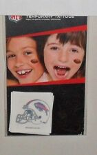 NFL BUFFALO BILLS 4 TEMPORARY TATTOOS FAST FREE SHIPPING