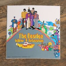 "Vintage The Beatles Yellow Submarine 2005 Rock Band Sticker 3"" x 3"" +"