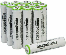 AmazonBasics Batteries Rechargable AAA NiMH, Pack of 12, 24, or 48