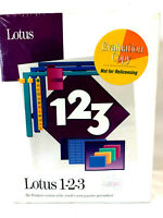 "Lotus 1-2-3 For Windows IBM Compatible 3.5"" 1.1 VTG Brand New Factory Sealed"