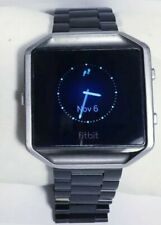 Fitbit Blaze Smartwatch Fb502 Activity Tracker Fitness Watch & Lot Accessories