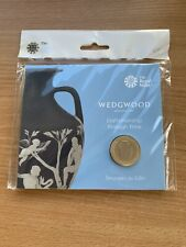 2019 Royal Mint Wedgewood £2 Coin Still sealed