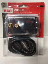 RCA VIDEO 4-WAY SIGNAL AMPLIFIER NIB