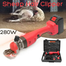 280W Electric Sheep Shears Portable Sheep Hair Clipper Goats Shearing Machine