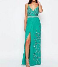 Vestiti da donna verde Lunghezza totale senza maniche