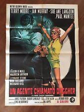 MANIFESTO.2F,Un agente chiamato Daggher ,A Man Called  sexy spy Moore Murray