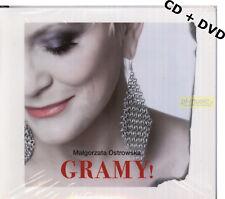 = MALGORZATA OSTROWSKA [ex LOMBARD] - GRAMY ! LIVE // CD + DVD sealed
