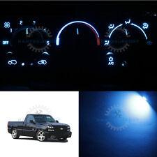 LED Set AC Climate Control Ice Blue Bulb for 99-02 Chevrolet Silverado 1500 & HD