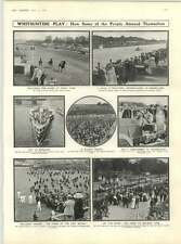 1909 Whit Motor Racing Brooklands Molesey Lock Baden Powell Invents Camera