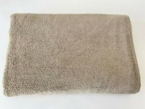 "100% Cotton Extra Large Oversized Bath Towel Beige Bath Sheet 40x80"""