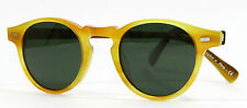 New Oliver Peoples OV 5186 1013 GREGORY PECK Honey Gold Sunglasses