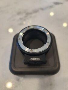 Nikon G to Sony E Mount Adapter