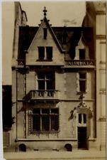BELGIQUE Façade de maison Tirage albuminé  14x21  Circa 1880