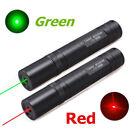 5mW Red Green Laser Pointers Lazer Teach PPT Presentation Pen Visible Beam Light
