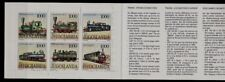 Yugoslavia Sc 2167 NH Booklet of 1992 - Trains