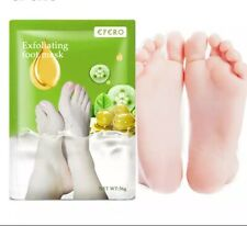 6PCS Peeling Foot Mask Exfoliating Scrub Pedicure Socks Heels Remove Dead Skin