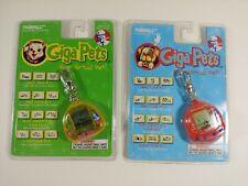 TWO 1997 KFC Digipooch Kitty Giga Pets Nano Baby Tamagotchi virtual pet sealed