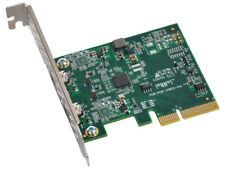 Sonnet Allegro USB 3.1 2-puerto USB-C 10gb PCIe Card