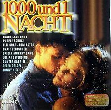1000 und 1 Nacht Johnny Hill, Tom Astor, Bernd Clüver, Roberto Blanco, Gu.. [CD]