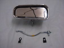 1969-1982 Corvette LH Outside Door HANDLE with ROD Upper and Lower Clip included