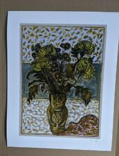 Billy Childish Signed Limited Edition Fine Art Print, South Korea 2020,5/200.