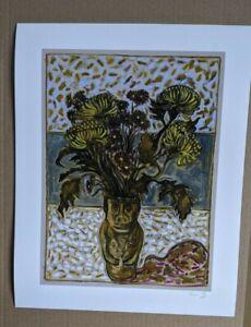 Billy Childish Withdrawn Seoul South Korea signed fine art print no 5/113.