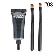 Brown Waterproof Tint Eyebrow Henna With 2PC Mascara Eyebrows Paint Brush Set JT