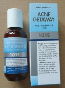 101E Herbal Lotion for ACNE Getaway Red Spots MARKS