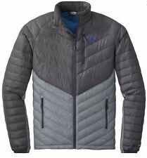 Outdoor Research Illuminate Down Jacket Large Grey Blue New With Tags Free Ship