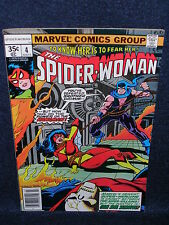 The Spider-Woman #4  (Marvel Comics Group, 1978)  Bronze Age Comic  @