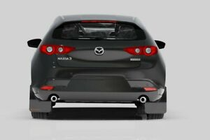 Rally Armor Mud Flaps For 2019-2020 Mazda 3 Hatchback w Red Logo