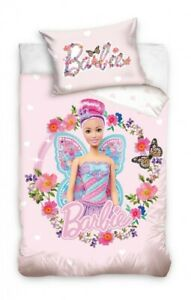Barbie Toddler Bedding Pink Fairy wings toddler / cot bedding