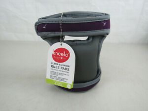Burgon & Ball KPADPLUM Plum Kneelo GKN Ultra-Cushion Kneeler/Gardening Knee Pads