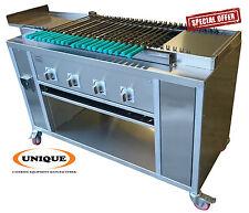 Automatic Rotating Seekh Kebab Conveyor Charcoal Grill ORIGINAL