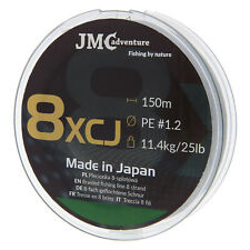 JMC ADVENTURE Plecionka / Japanese 8 braided fishing line PE 1.2 150m 25lb
