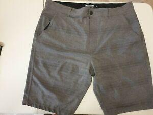 Insitu Mens Grey Stretch Shorts W40