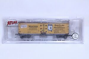 ATLAS N SCALE NUCOA PRODUCTS 40' WOOD REEFER NEW IN BOX