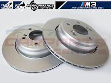 FOR BMW E46 M3 3.2 CSL 2001-2007 REAR BRAKE DISCS DISC 328mm PREMIUM QUALITY