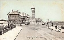 England postcard Skegness Tower & Parade busy street scene