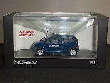 NOREV 517405 RENAULT TWINGO GENDARMERIE BLUE DIECAST MODEL CAR