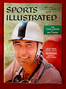 Sports Illustrated March 25, 1957 Carroll Shelby Sebring Classic NEWSSTAND EX+