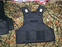 LARGE Body Armor Bullet Proof Vest With Plates / panels level IIIA