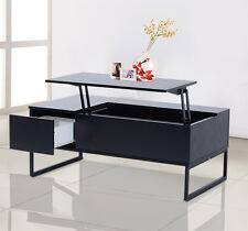 Coffee Table Tea 43″ Lift Top Storage Drawer Wood Living Room Furniture Modern