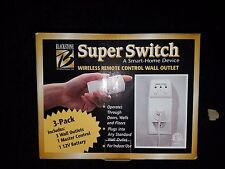 Blackstone SuperSwitch Wireless Remote Control Wall Outlets