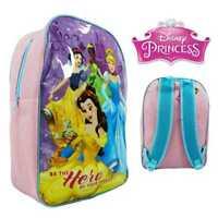 Disney Princess Bambini Cenerentola Zaino Borsa Scuola 41cm 236T