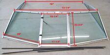 1985 FourWinns Horizon 170 Windshield with Walk-thru Window Very Nice