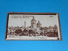 CHROMO PHOTO CHOCOLAT SUCHARD 1934 EUROPE TCHECOSLOVAQUIE BUDEJOVICE