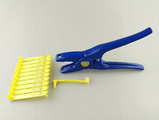 Ear Tag & Tag Plier for Sheep or small animals Applicator Puncher Veterinary